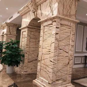 tổng hợp 177 mẫu cột đá cột vuông cột tròn các loại cột